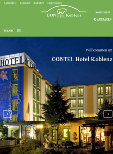 Screenshot www.contel-koblenz.de